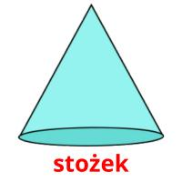 stożek picture flashcards
