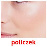 policzek picture flashcards