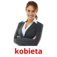 kobieta picture flashcards
