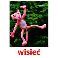 wisieć picture flashcards
