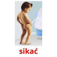 sikać picture flashcards