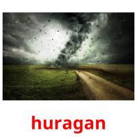 huragan picture flashcards