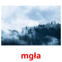 mgła picture flashcards