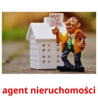 agent nieruchomości picture flashcards