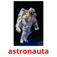astronauta picture flashcards