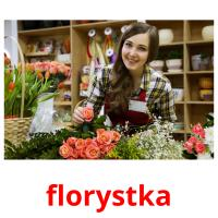 florystka picture flashcards