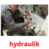 hydraulik picture flashcards
