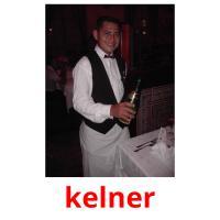 kelner picture flashcards