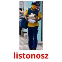 listonosz picture flashcards