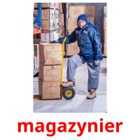 magazynier picture flashcards