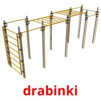 drabinki picture flashcards