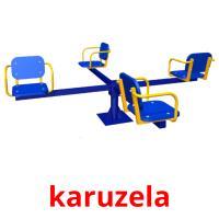 karuzela picture flashcards