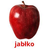 jabłko picture flashcards