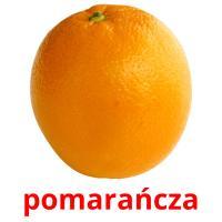 pomarańcza picture flashcards
