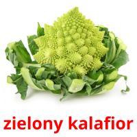 zielony kalafior picture flashcards