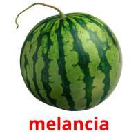 melancia picture flashcards