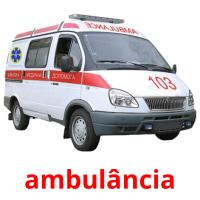 ambulância picture flashcards