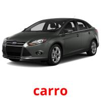 carro picture flashcards