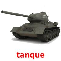 tanque picture flashcards