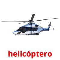 helicóptero picture flashcards