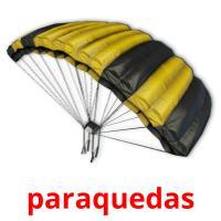paraquedas picture flashcards
