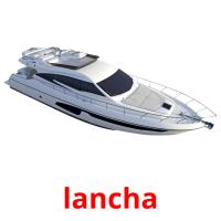 lancha picture flashcards