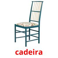 cadeira picture flashcards