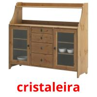 cristaleira picture flashcards