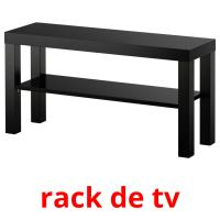 rack de tv picture flashcards