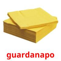 guardanapo picture flashcards