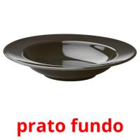prato fundo picture flashcards