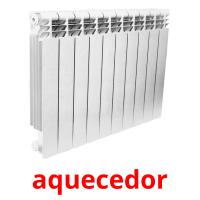 aquecedor picture flashcards
