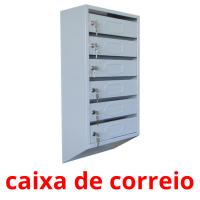 caixa de correio card for translate