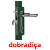 dobradiça picture flashcards