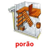 porão picture flashcards