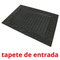 tapete de entrada card for translate