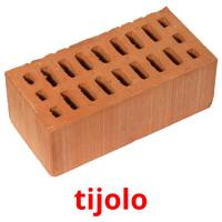 tijolo picture flashcards