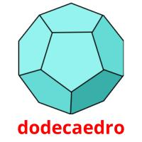 dodecaedro picture flashcards