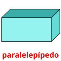 paralelepípedo picture flashcards