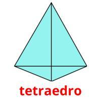 tetraedro picture flashcards