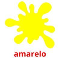 amarelo picture flashcards
