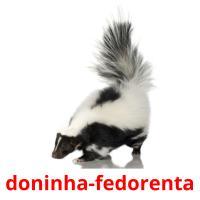 doninha-fedorenta picture flashcards