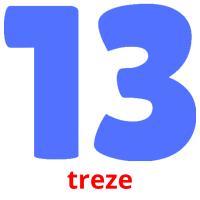 treze picture flashcards