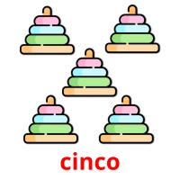 cinco picture flashcards