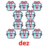 dez picture flashcards