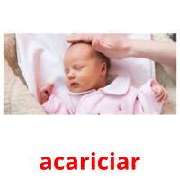 acariciar picture flashcards