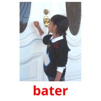 bater picture flashcards