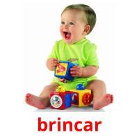 brincar picture flashcards