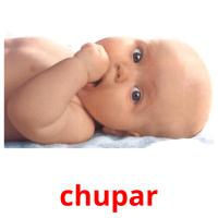 chupar picture flashcards