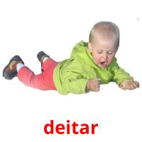 deitar picture flashcards